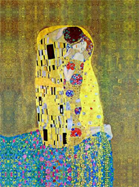 Image Photo a3 The Kiss 2 Klimt PLUS use | Photos and Images | Vintage