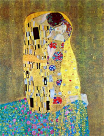 Image Photo a3 The Kiss 2 Klimt | Photos and Images | Vintage