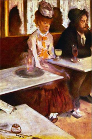Image Photo Absinthe Drinkers Degas Impressionism | Photos and Images | Vintage