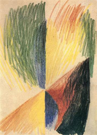 Image Photo Abstract Form 14 August Macke Expressionism | Photos and Images | Vintage
