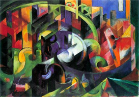 Image Photo Abstract Royalty Free Image Abstract with cattle Franz Marc Abstract Art | Photos and Images | Vintage