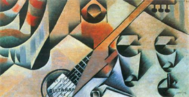 Image Photo Abstract Royalty Free Image Banjo guitar and glasses Juan Gris Abstract Art | Photos and Images | Vintage