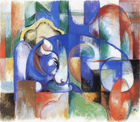Image Photo Abstract Royalty Free Image Bull Franz Marc Abstract Art | Photos and Images | Vintage