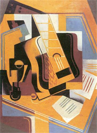 Image Photo Abstract Royalty Free Image Guitar 1 Juan Gris Abstract Art | Photos and Images | Vintage