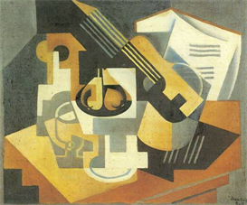 Image Photo Abstract Royalty Free Image Guitar and Fruit Bowl 1 Juan Gris Abstract Art | Photos and Images | Vintage