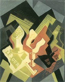 Image Photo Abstract Royalty Free Image Guitar and Fruit Bowl 2 Juan Gris Abstract Art | Photos and Images | Vintage