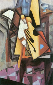 Image Photo Abstract Royalty Free Image Guitar and stool Juan Gris Abstract Art | Photos and Images | Vintage