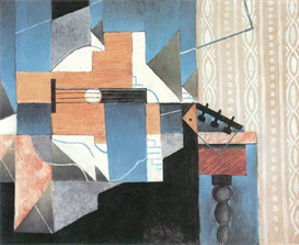 Image Photo Abstract Royalty Free Image Guitar on a table Juan Gris Abstract Art | Photos and Images | Vintage