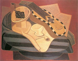 Image Photo Abstract Royalty Free Image Guitar with ornaments Juan Gris Abstract Art | Photos and Images | Vintage