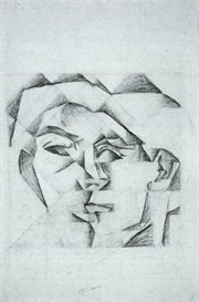 Image Photo Abstract Royalty Free Image Head of a man head of a woman Juan Gris Abstract Art | Photos and Images | Vintage