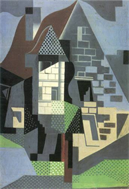 Image Photo Abstract Royalty Free Image Houses in Beaulieu Juan Gris Abstract Art | Photos and Images | Vintage