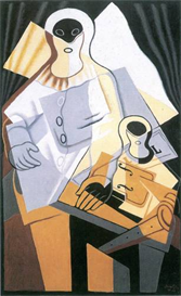 Image Photo Abstract Royalty Free Image Pierrot 1 Juan Gris Abstract Art | Photos and Images | Vintage