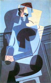 Image Photo Abstract Royalty Free Image Portrait of Madame Josette Gris Juan Gris Abstract Art | Photos and Images | Vintage