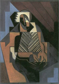 Image Photo Abstract Royalty Free Image Sitting peasant woman Juan Gris Abstract Art | Photos and Images | Vintage
