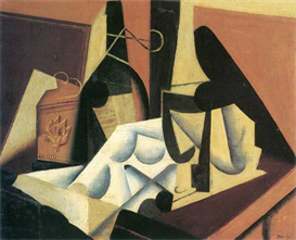 Image Photo Abstract Royalty Free Image Still Life with a white tablecloth Juan Gris Abstract Art | Photos and Images | Vintage