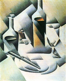Image Photo Abstract Royalty Free Image Still Life with bottles and knives Juan Gris Abstract Art | Photos and Images | Vintage