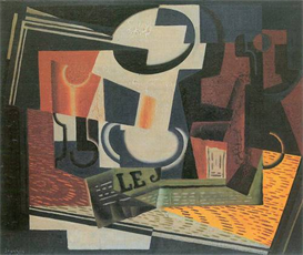 Image Photo Abstract Royalty Free Image Still Life with Fruit Bowl Juan Gris Abstract Art | Photos and Images | Vintage