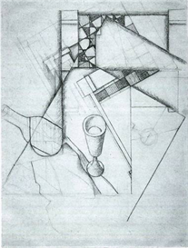 Image Photo Abstract Royalty Free Image Still Life with glass and board game Juan Gris Abstract Art | Photos and Images | Vintage
