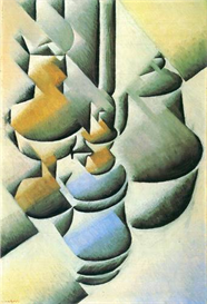 Image Photo Abstract Royalty Free Image Still Life with oil lamp Juan Gris Abstract Art | Photos and Images | Vintage