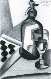 Image Photo Abstract Royalty Free Image Still Life with Siphon Juan Gris Abstract Art | Photos and Images | Vintage