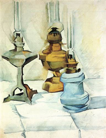 Image Photo Abstract Royalty Free Image Still life with three lamps Juan Gris Abstract Art | Photos and Images | Vintage