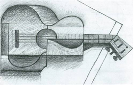 Image Photo Abstract Royalty Free Image The Guitar Juan Gris Abstract Art | Photos and Images | Vintage
