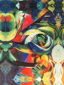 Image Photo Abstract Royalty Free Image The Mandrill Franz Marc Abstract Art | Photos and Images | Vintage