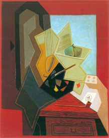Image Photo Abstract Royalty Free Image The window of the painter Juan Gris Abstract Art | Photos and Images | Vintage