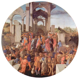 Image Photo Adoration of the Magi (London) [2 Botticelli | Photos and Images | Vintage