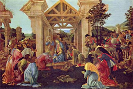 Image Photo Adoration of the Magi (Washington) Botticelli | Photos and Images | Vintage