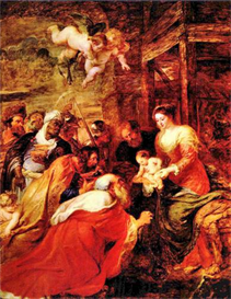 Image Photo Adoration of the Magi Rubens | Photos and Images | Vintage