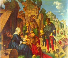 Image Photo Adoration of the Magi [1] Durer | Photos and Images | Vintage