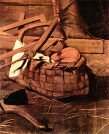 Image Photo Adoration of the Shepherds detail Caravaggio | Photos and Images | Vintage