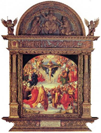 Image Photo Adoration of the Trinity Durer   Photos and Images   Vintage