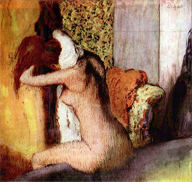 Image Photo After bathing #2 Degas | Photos and Images | Vintage