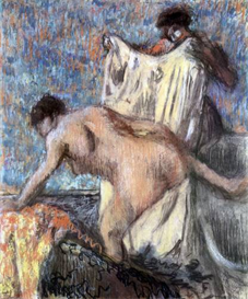 Image Photo After bathing #3 Degas | Photos and Images | Vintage