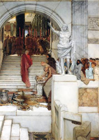 Image Photo After the Audience Alma-Tadema | Photos and Images | Vintage