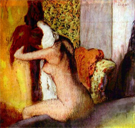 Image Photo After the Bath Degas | Photos and Images | Vintage
