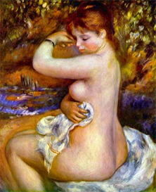 Image Photo After the bath Renoir | Photos and Images | Vintage