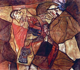 Image Photo Agony (The Death Struggle) Egon Schiele | Photos and Images | Vintage