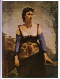 Image Photo Agostina 1866 Corot Impressionism | Photos and Images | Vintage