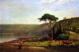 Image Photo Albanersee George Inness | Photos and Images | Vintage