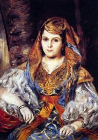 Image Photo Algerian Woman Renoir | Photos and Images | Vintage
