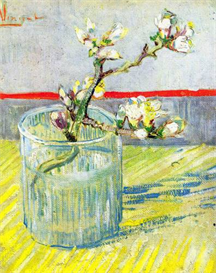 Image Photo Almond Blossom branch  Van Gogh | Photos and Images | Vintage