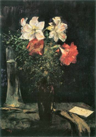 Image Photo Amaryllis Lesser Ury Impressionism European | Photos and Images | Vintage