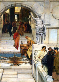 Image Photo An audience with Agrippa Alma-Tadema | Photos and Images | Vintage