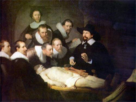 Image Photo Anatomy of Dr. Tulp Rembrandt | Photos and Images | Vintage