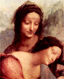 Image Photo Anna Selbdritt 2 detail Da Vinci | Photos and Images | Vintage