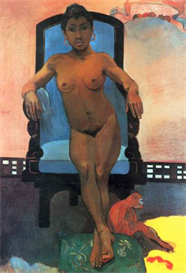 Image Photo Anna the Java Woman Gauguin | Photos and Images | Vintage