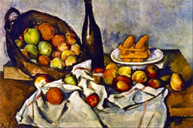 Image Photo Apple Basket Cezanne Impressionism | Photos and Images | Vintage